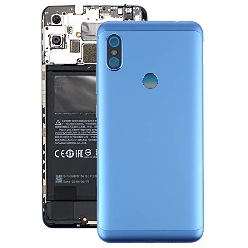Xiaomi Battery Back Cover for Xiaomi Redmi Note 6 Pro – Non Retail Packaging (Blue)