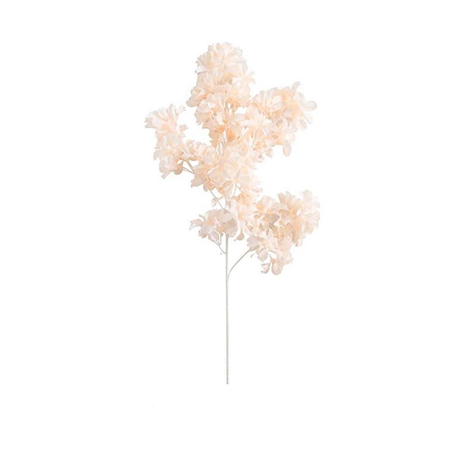 大使館雑多な旋律的枯れない花 造花 花束 TangQI 四色 北欧スタイル 一輪 インテリア アートフラワー ソフト触感 家庭 転居 お祝い 結婚式 プロポーズ 誕生日 バレンタインデー お見舞い プレゼント 贈り物 飾り 装飾 (ベージュ)