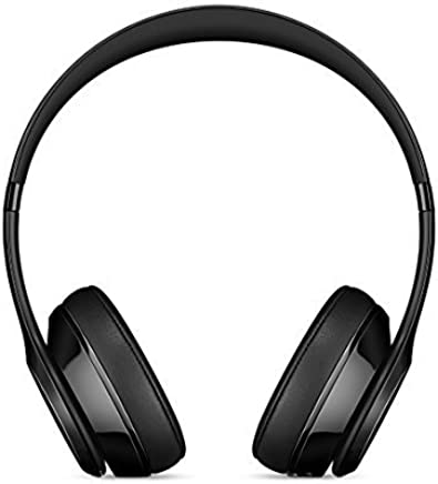 Beats Solo 3 Wireless On-Ear Headphones - Gloss Black (Refurbished)