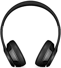Beats Solo 3 Wireless On-Ear Headphones - Gloss Black (Renewed)