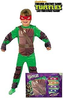 DISBACANAL Disfraz Tortugas Ninja Infantil - Único, 3-4 años ...