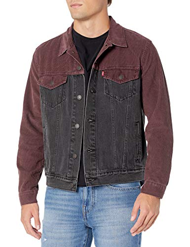 Levi's Men's, Original Trucker Jacket, Snapback Cord , Medium
