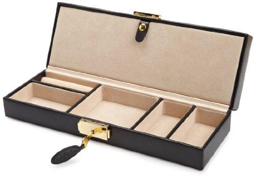 WOLF 280302 Heritage Safe Deposit Box, Black