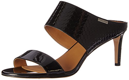 Calvin Klein Women's Cecily Dress Sandal, Black, 8.5 M US