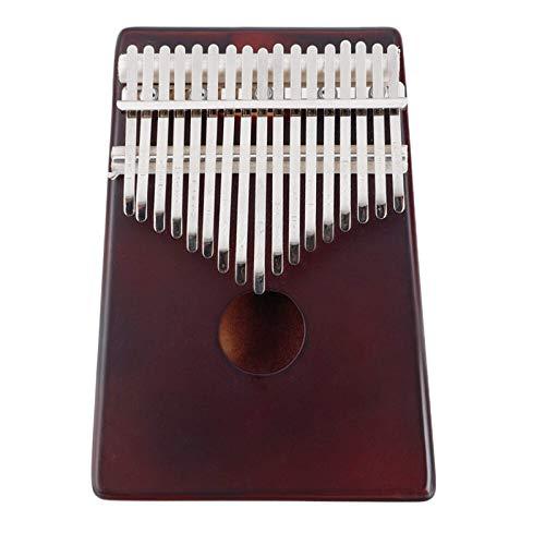 Portatile Pollice Piano17 Tasti Olid Legno Intagliato Kalimba Pollici Pianoforte Strumenti MusicaliPrincipianti