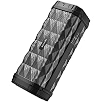 BUGANI M99 Portable Bluetooth Speaker 5.0, 100ft Wireless Range, Louder Volume, Stereo Sound, Amazing Bass, IPX5, Built-in Mic, Speaker