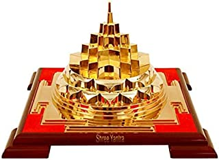 worldmart MERU Chakra SRI SHRI Shree Durga Yantra VASTU Correction & Prosperity Energized- Creation SWARNA Shree Yantra