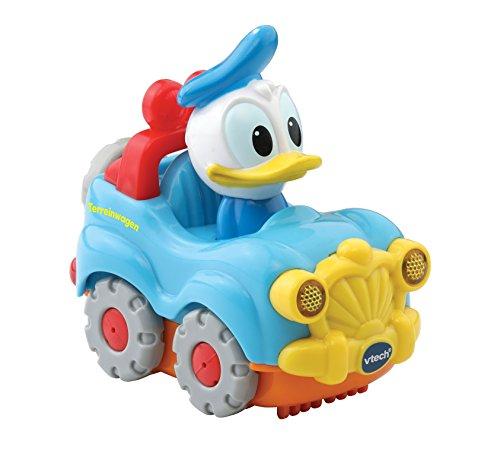 VTech Toet Toet - Toet car: Donald Duck in auto, colore: Blu chiaro