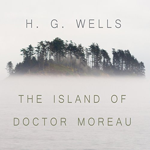 The Island of Dr. Moreau audiobook cover art