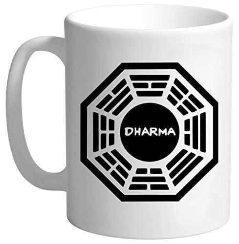 Dharma Initiative Hombre Blanco Taza
