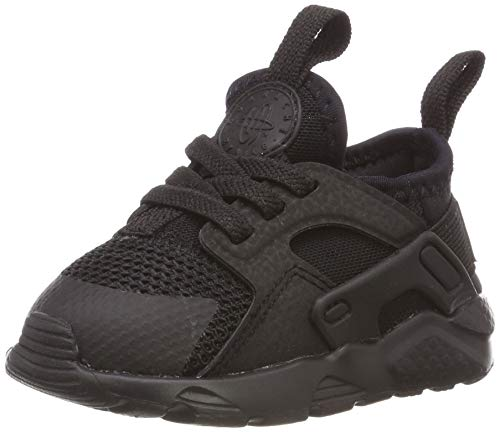 Nike Unisex Kinder Huarache Run Ultra (td) Hausschuhe, Schwarz (Black/Black 004), 22 EU