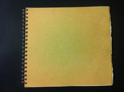 Khadi Paper Wiro Sketch Book W5WS 6' x 8' 210 gsm