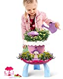 Fairy Garden Kit for Kids, Girls Boys DIY Fairy Garden Tool Set Toys, Indoor Outdoor Play Gardening Tool Set, Holiday & Unique Gift for Kids Ages 3 4 5 6 7 8 9 10 Year Old with Musical Sound Gardening