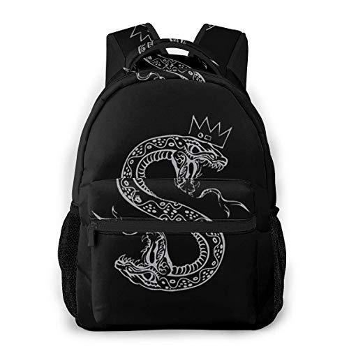 Cole-Sprouse_Serpent - Mochila con impresión 3D para jóvenes