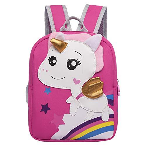 Zaino per Bambini Unicorno, Ksopsdey Zainetto per Bambina Studenti Asilo Infantile Sacchetto di Scuola, Zaino Unicorno Ragazza/Zaino Scuola Galaxy/Zaini Scuola