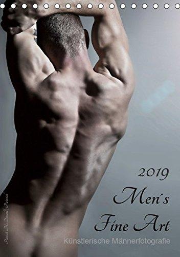 Men´s Fine Art - Künstlerische Männerfotografie (Tischkalender 2019 DIN A5 hoch): Mit diesem Titel präsentiert uns Patrick Mc Donald seine Idee ... 14 Seiten ) (CALVENDO Menschen)