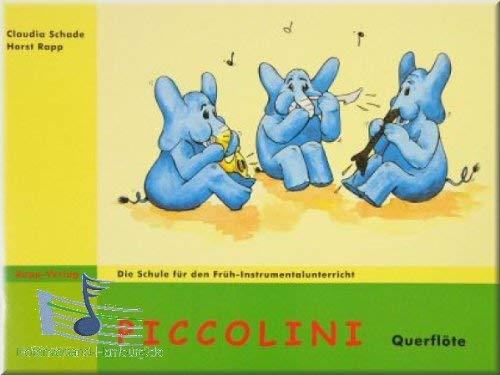 Picco Lini Flauto Traverso 1–La Scuola per le Lezioni di Mattina di Instrumental per bambini a partire dai 6anni–Flauto Noten [Note musicali]