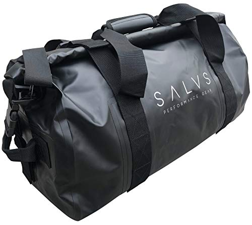 SALVS Waterproof Duffle Bag 50L- Dry Bag Keep Valuables Safe While Boating, Kayaking Sailing, Camping, Fishing - Collapsible For...