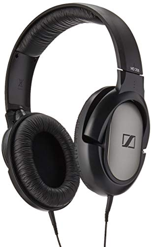 Sennheiser HD 206 Closed-Back Over Ear Headphones (Discontinued by Manufacturer) (Renewed)