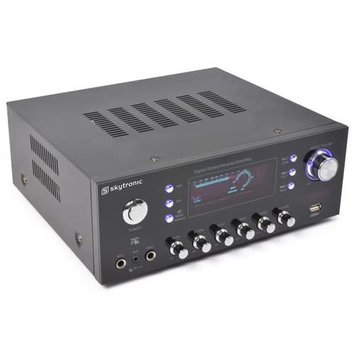 Skytronic 103.206 - Amplificador con entrada micros: Amazon.es ...