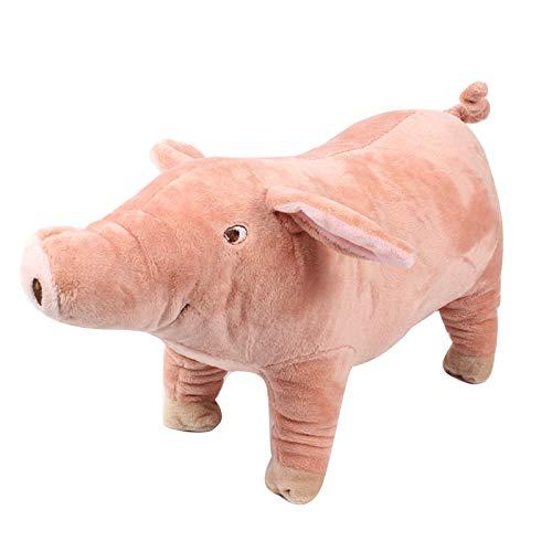 H87yC4ra Schwein Plüsch Gefüllte Puppe, Soft Cat Welpenspielzeug Pet Supply Pet Interaktives Spielzeug Rosa