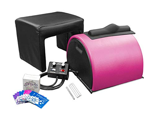 Sybian for Women - Sybian Package - Pink with Beige Attachments