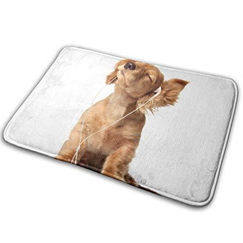 Abigails Home Nette Hunde Welpen Teppich Teppich Fußmatte Badezimmer Küche rutschfeste Indoor-Eingang 15,7