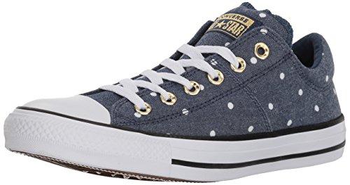 Converse Damen Madison Mini Dots Low Top Turnschuh, Marineblau/Gold/Weiß, 40 EU