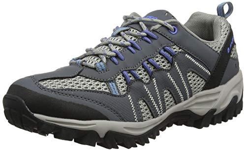 Hi-tec Trail Blazer Waterproof, Chaussures de Randonnée Hautes Homme - Noir (charcoal/black), 37 EU