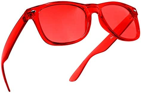 Red Color Therapy Mood Glasses by Purple Canyon Light Therapy Chakra Healing Glasses Chromotherapy product image