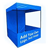 Brandway Promotional Canopy 4 X 4 X 7 with Blue Tetron Cloth (Blue)
