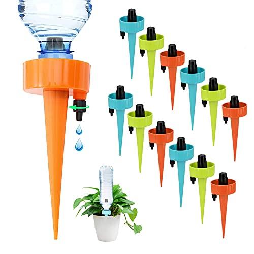 Automatisch Bewässerung Set, Pflanzen Topfpflanzen Bewaesserungssystem, Self Watering System für Pflanzen Blumen Gießen im Urlaub, Blumengießer Automatisch für Blumentopf Garten Zimmerpflanzen