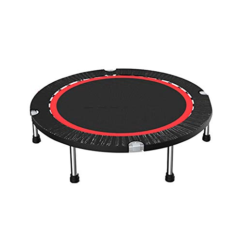 Trampolines HUO for Kids Adult Durable Silent Bounce Mini Foldable Adults Fitness Rebounder for Indoor/Outdoor - Max 330lbs