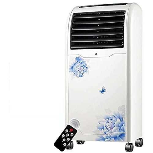 Ventola del condizionatore d'aria Condizionatore portatile, deumidificatore, ventilatore, per camere fino a 150 mq, refrigeratore d'aria con telecomando (80W) Dispositivo di raffreddamento personale