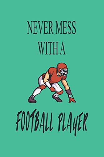 Carnet - Football américain: Planificateur  Journal  Bloc-notes  Copybook  cadeau parfait pour les joueurs de football américains  cahier doublé avec ... américain  Taille 6