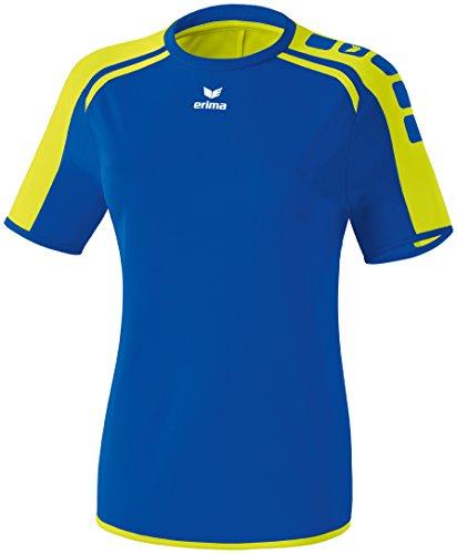 erima Camiseta para Mujer, Azul (New Royal/Neon Gelb), 38