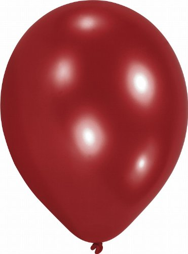 Amscan - 6491 - 100 Ballons Latex Rouges 68 Cm 7'' -
