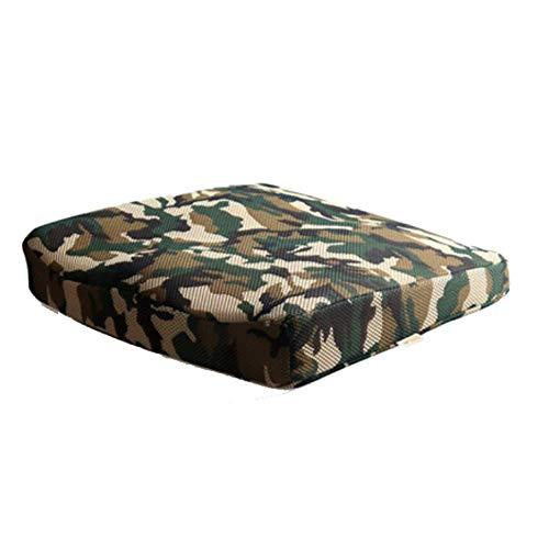 RUIX Orthopädisches Sitzkissen Camouflage Mesh Atmungsaktiv Bürostuhl Kissen Langsam Rebound Memory-Baumwolle Kissen