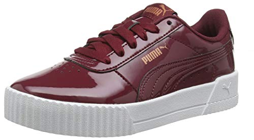 Puma Damen Carina P Sneaker, Rot (Cordovan-Cordovan 03),  37 EU (4 UK)