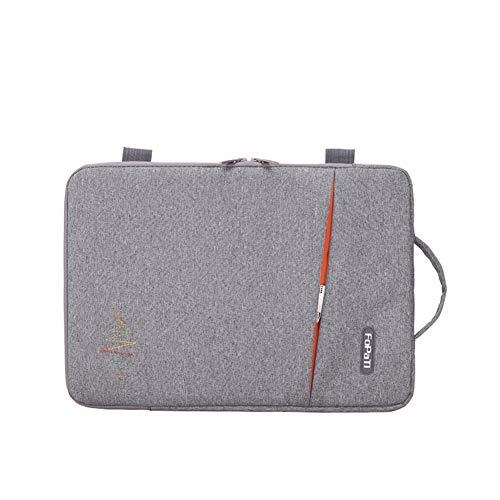 GUOCU Laptop Sleeve Hülle Notebook Hülle Schutzhülle Tasche Schutzabdeckung Laptoptasche für HP Stream / 2017 Lenovo ThinkPad X1 Yoga/ThinkPad A475 Laptop,Grau,15