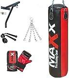 Maxx 5Pcs Boxing Set, 5ft Hangin...