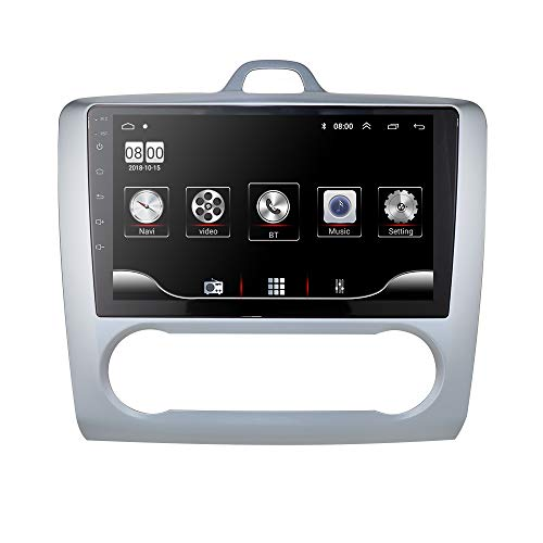 Android 9.0 Car Navigation admite Radio FM Bluetooth WiFi Mirror-Link Fit para Ford Focus Exi en 2004 2005 2006 2007 2008 2009 2010 2011