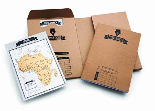 Luckies of London Travelogue - interaktives Reisetagebuch mit Rubbelseiten