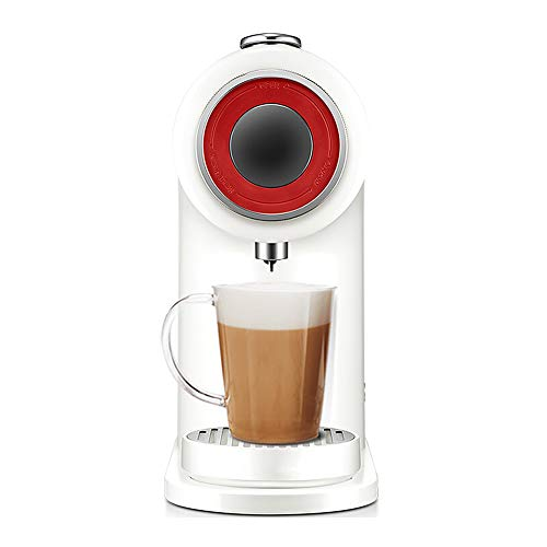 Huishoudelijke Koffiemachines, Capsule Koffiemachine Huishoudelijke Kleine Slimme Automatische Koffiemachine Sojamelk Melk Theemachine Modern design size Kleur: wit