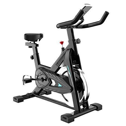 Bicicleta Estática Duradera, Bicicleta Ultra Silenciosa con Rotación A Alta Velocidad Y Pantalla LCD, Manillar Y Asiento Ajustables, Adecuado para El Hogar Y El Gimnasio