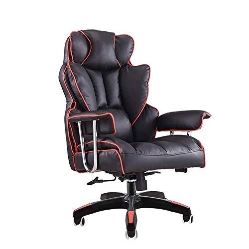 Syxfckc Sillas de oficina, sillas ergonómicas, sillas de juego ajustable en altura, rotación de 360 grados y juegos de sillas de ruedas multi-direccionales, sofá silla de casa, duradero, fiable desp