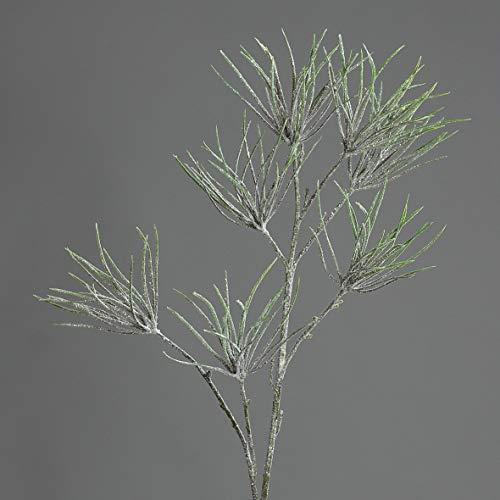 Seidenblumen Roß Tillandsienzweig 78cm geeist DP Kunstzweig künstlicher Zweig künstliche Tillandsie
