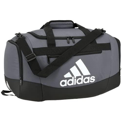 adidas Defender 4 Small Duffel Bag, Borsa da Viaggio Unisex-Adulto, Team Onix Grigio, Taglia unica