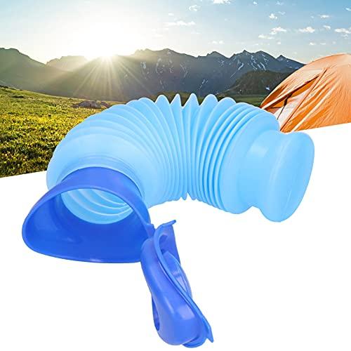 Urinario de viaje, plegable, fácil de llevar, fácil de llevar, unisex, botella de orina ecológica para exteriores para acampar