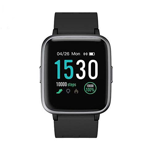 Reloj Inteligente, rastreador de Ejercicios con Monitor de frecuencia cardíaca, rastreador de Actividad, rastreador de calorías, podómetro IP68